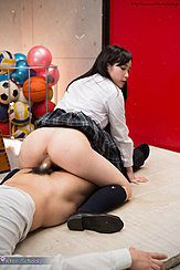 Kasugano Yui Riding Cock In Reverse Cowgirl Position