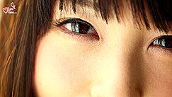 Auburn Hair Framing Her Eyes