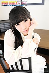 Kokomi Shiozaki Sitting On Chair Long Hair Down To Her Chest Her Arms Crossed