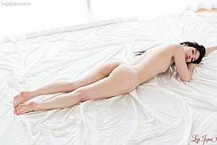 Lying On Her Front Nude Nice Ass Bare Feet