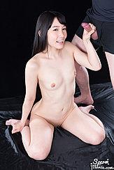 Kasugano Yui Kneeling Naked Holding Cock Small Tits